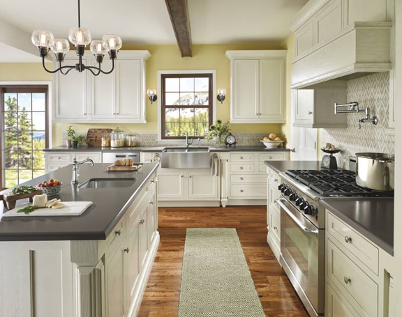 Newest trend kitchen appliance colors - Trends For Kitchen Cabinets Colors Appliances Flooring And More