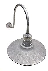 Industrial Style Galvanized Steel Barn Light;