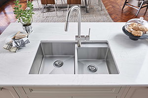 Elkay Crosstown Stainless Steel Undermount Sink. Staff at This Old House chose this sink as one of their top 100 kitchen products of 2018.