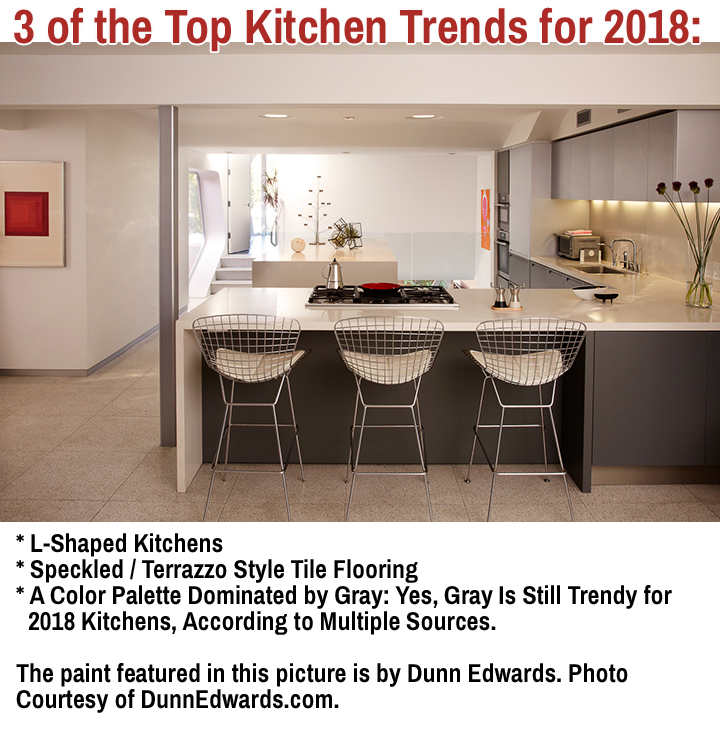 This Photo Gives You A Glimpse At 3 Of The Top 2018 Kitchen Trends: An