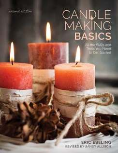 Candle Making Basics book by Eric Ebeling, published by Stackpole Books