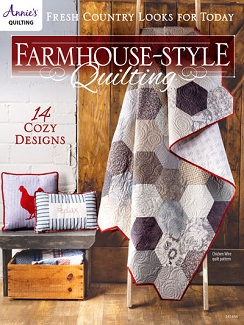 Farmhouse-Style Quilting book, published by Annie's