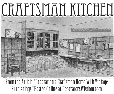 Craftsman Kitchen Decor