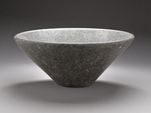 An Antique Granite Bowl From Egypt, Perhaps Dating Back to the 1st or 2nd Dynasty, 3050-2687 B.C. Photo Courtesy of the Los Angeles County Museum of Art.