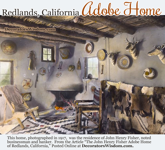 A Vintage Adobe Home in Redlands, California