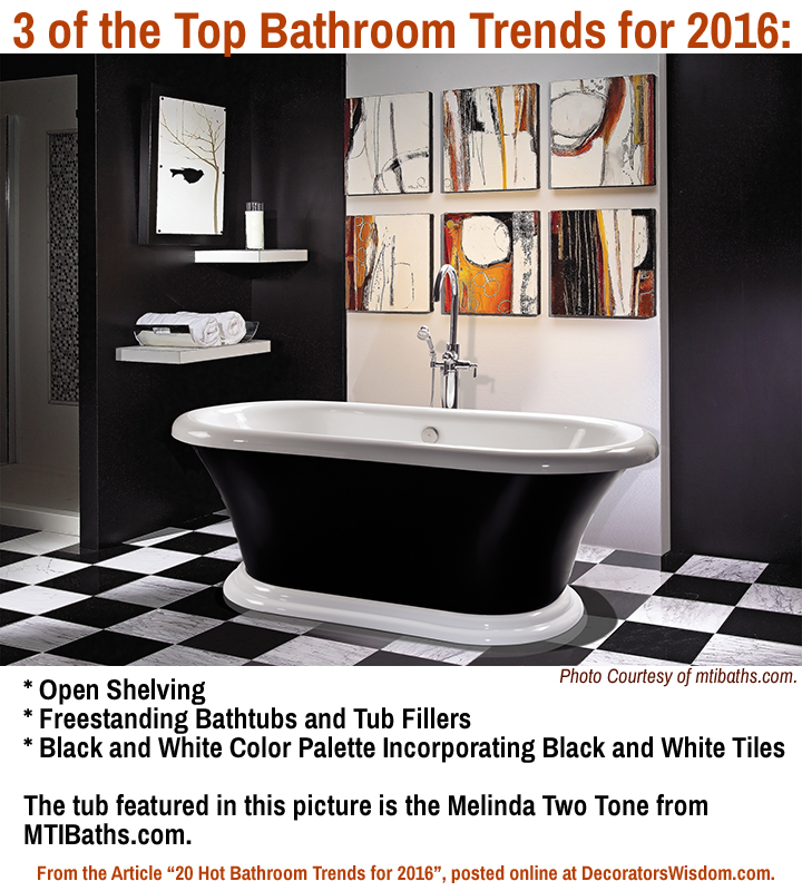 Master bathroom trends 20 hot for 2016 decorators wisdom for Bath trends 2016