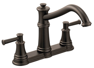 Moen is one of the manufacturers that recently released a brand new traditional style kitchen faucet design. This product is known as the