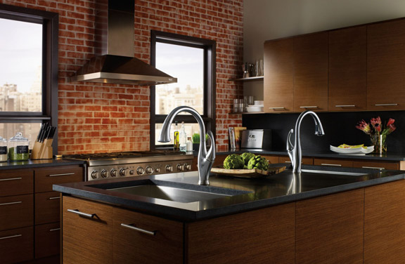 Delta Faucet's Water-Saving Kitchen Faucet, Known as the Addison.